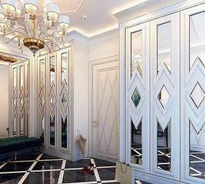Двери с делителем наклейкой Анапа
