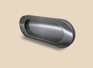 Ручка серебро глянец овальная Италия Анапа