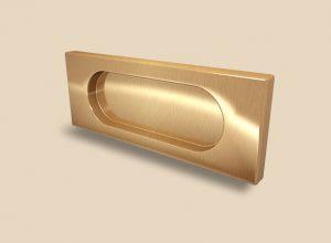 Ручка Золото глянец прямоугольная Италия Анапа