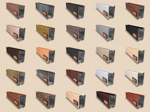 """Алюминиевый ламинированный профиль """"HOLZ"""" для шкафов купе и межкомнатных перегородок Более 100 цветов Анапа"""