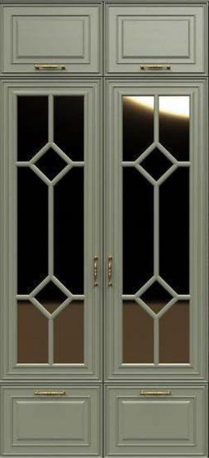 Фасад с фигурной филенкой эмаль Анапа
