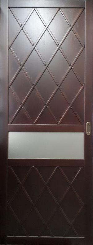 Вставка в дверь с фигурной филенкой Анапа