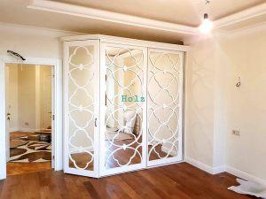Двери с фигурной филенкой, эмаль Анапа