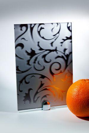 "Зеркало ""Барокко"" матовое графит Анапа"