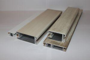 Профиль алюминиевый для шкафа купе, межкомнатных перегородок эмаль +патина Анапа