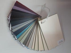 Образцы стандартных цветов. Эмаль Анапа