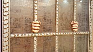Алюминиевый профиль для шкафа купе эмаль с декоративной накладкой Анапа