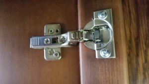 Петля для распашной двери с доводчиком Анапа